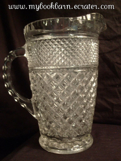 The Antique Glass Pitcher Where Maris Served The Ice Water