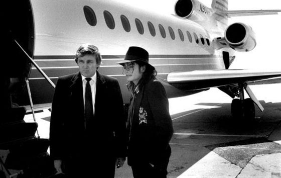 The Private Jet Michael Borrowed From Good Friend, Donald Trump For His Trip To Paris