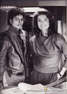 Michael And Good Friend, Jackie Kennedy Onassis