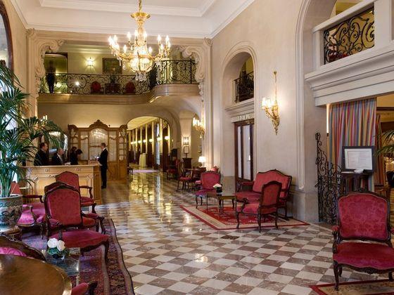 Inside The Regina Hotel In Paris, France