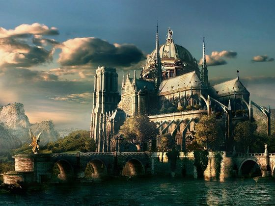 The castelo of First Magic