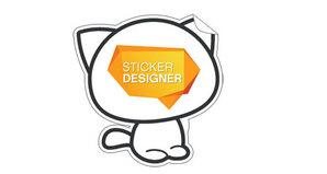 sticker ubunifu tool from No-refresh.com
