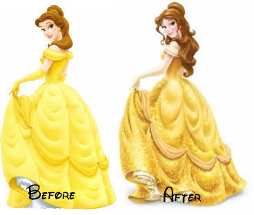 Countdown: Most Accurate Redesigns - Disney Princess - Fanpop Beauty And The Beast Belle Pink Dress