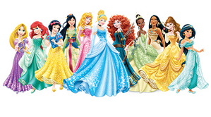 Princess Lineup (as of Dec. 2013)