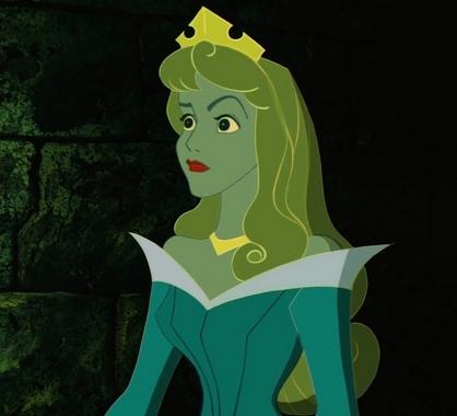 The poised princess