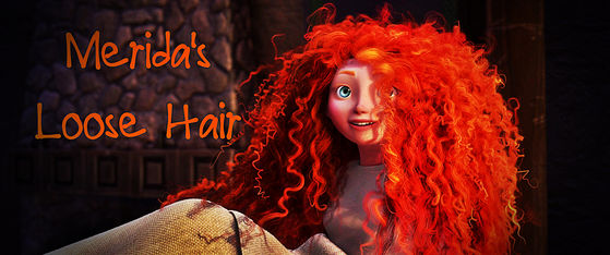 Merida: 90% hair, 10% human flesh