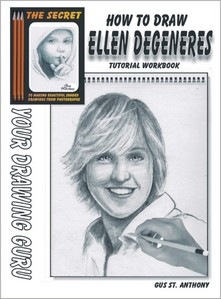 How To Draw Ellen Degeneres