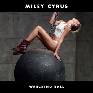 """Wrecking Ball"" (Single) Artwork Cover"