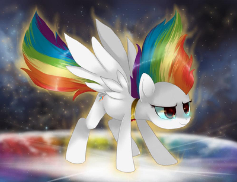 super rainbow dash's story  my little pony friendship is
