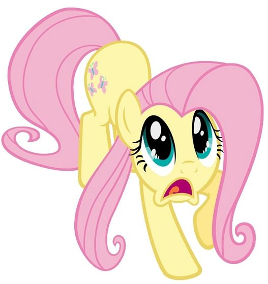 Fluttershy is scared