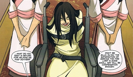Because this article isn't complete without crazy Azula.