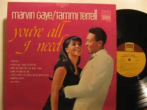 "1968 Motown Release, ""You're All I Need"""
