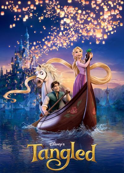 Disney's first CGI Fairytale film, with Mehr modern talk and DreamWorks marketing.