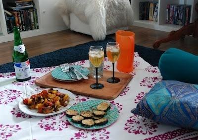 Michael And Maris' Romantic Dinner