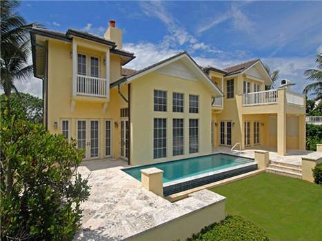 Michael's Summer Home In Palm Beach, Florida