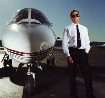 Royce, Michael's Personal Pilot