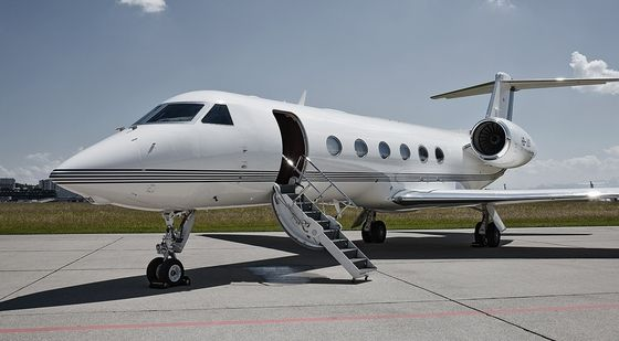 Michael's Private Jet