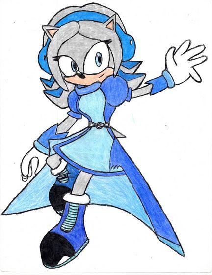 Krystal the hedgehog