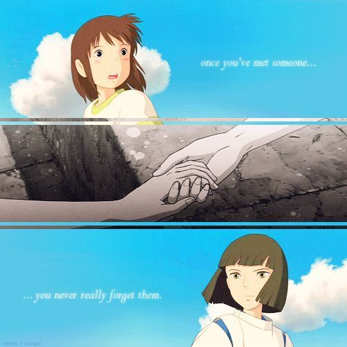 do chihiro and haku meet again song