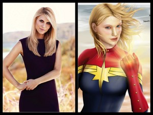 Claire Danes as the Marvelous Ms. Marvel