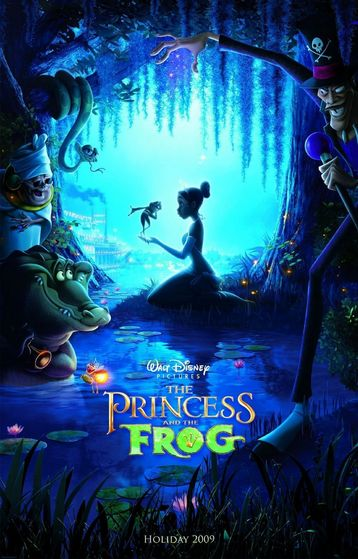The Princess and the Frog with 198 points