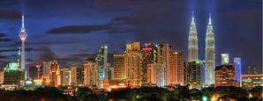 Kuala Lumpur によって night