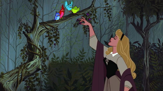 La dee da. Birdie *tweet tweet*