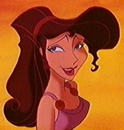 6. Megara: her beautiful dark red hair and curvy body makes her unbelievably beautiful and sexy