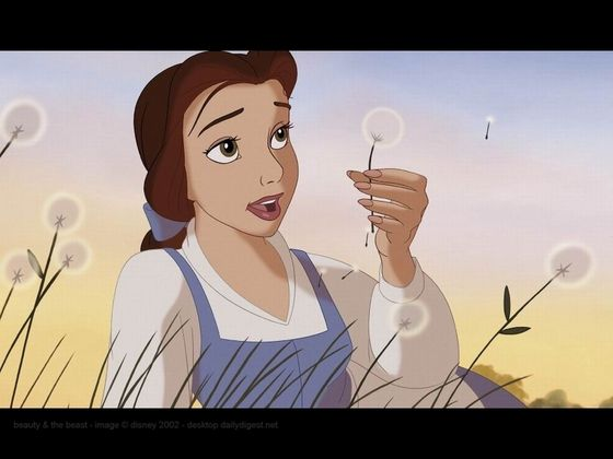 4. Belle: Her beautiful chocolate hair and hazel eyes (defiantly the best eyes out of all the Disney princesses) really makes her an undeniable beauty, her smartness and wittiness makes her 10x more gorgeous.