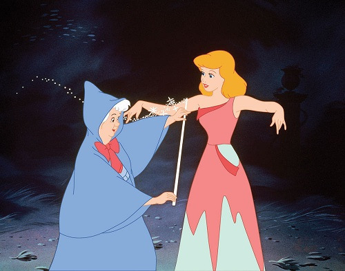 Let's face the truth: Had it not been for Fairy Godmother, poor cinderela would still be a maid in her house.