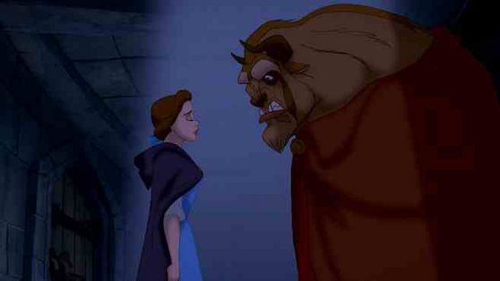 Belle should be congratulated, mainly because she can work her way with the Beast.