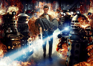 Series 7 begins in style with 'Asylum of the Daleks'.
