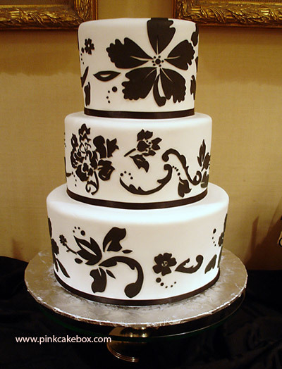 The Cake That Was Served At The Engagement Party