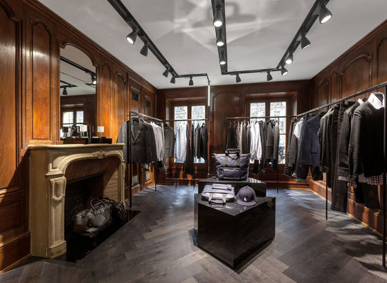 The Lagerfeld Mens' Store Where Michael Did Some Shopping While In Paris