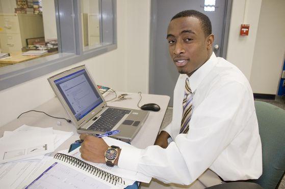Michael's Personal Assistant, Quantrell Harris