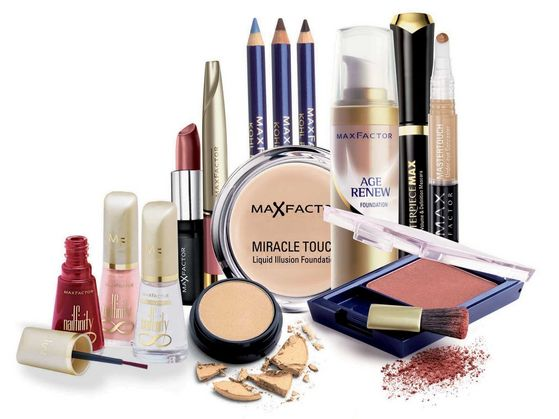 Max Factor Cosmetics Used In The Photoshoots