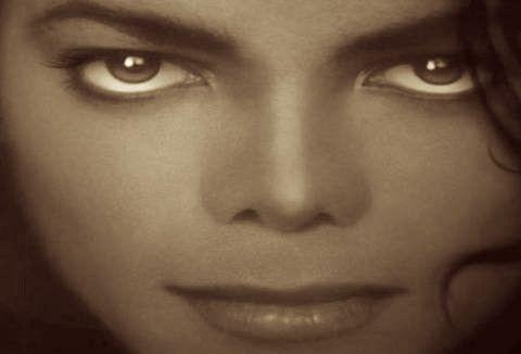Michael's Hypnotic Ebony Eyes