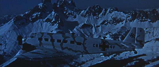 Twilight's passenger plane