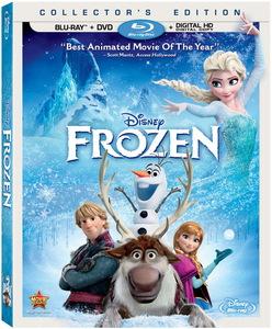 Cover Art for Disney's Frozen