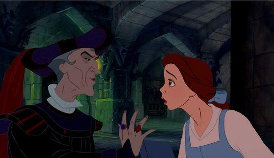 Frollo wants Belle for himself