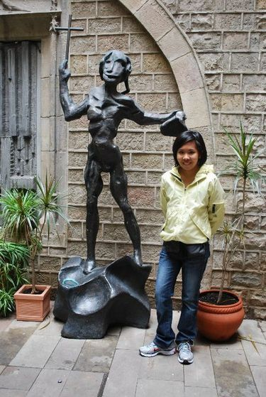 Salvador Dali Museum in Barcelona.