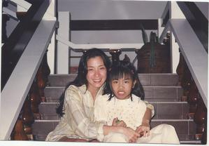 Michelle Yeoh (Bond Girl) and me in 1998, guess how old I was here.