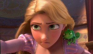 Rapunzel's brow lowered in determination, and she reached out…