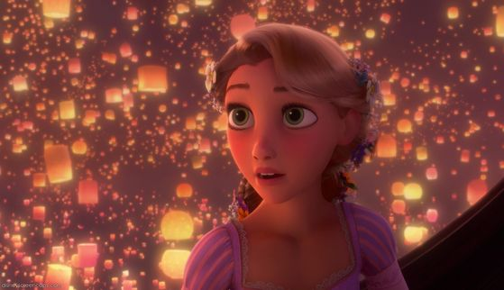 7. Rapunzel-She's got a nice voice. Very expressive, very emotional, very wispy. It's just too typical to me. Her voice isn't anything unique compared to the ones above her.