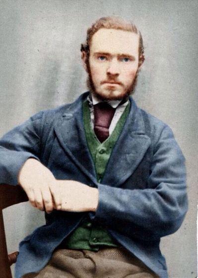 Justin's look alike in 1870's