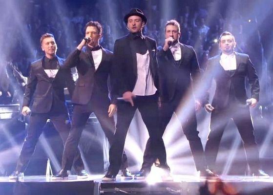 Justin reunited with Nsync boys at the VMAs 2013
