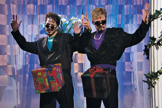 Andy Samberg and Justin Timberlake in SNL skit D*ck in a box