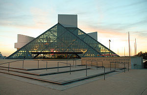 The Visiting The Rock And Roll Hall Of Fame He's A Two-Time Inductee In Cleveland, Ohio