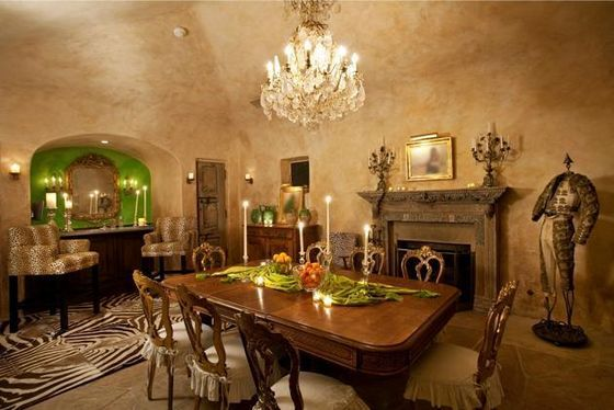 The Master Dining Room At Michael's House