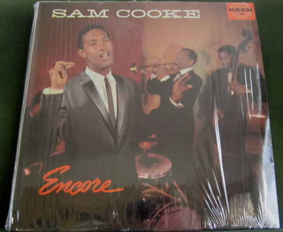 """1958 Sam Cooke Album, """"Encore"""", Given To Michael From Maris"""